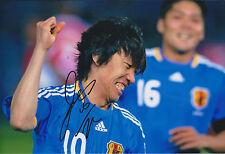 Shunsuke NAKAMURA SIGNED Autograph 12x8 Photo AFTAL COA YOKOHAMA Japan Asian Cup