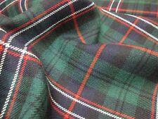 Scotlands National Modern Tartan 16oz 100% Pure Wool Tartan Fabric