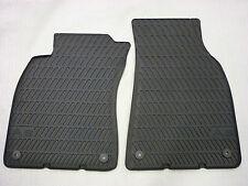Original Audi A6 Gummimatten/Gummifußmatten für vorne, A6 Modell 4F, --NEU/OVP--