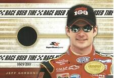 '01 Jeff Gordon Hendricks Motorsports - 100th Win Race Used Tire Jumbo 3x5 Card