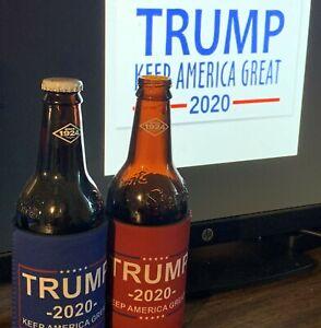 2 Trump Keep America Great Koozies (Red + Blue) $5/pair
