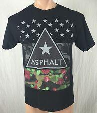 Asphalt Yacht Club M Floral Hawaiian Stars Pyramid Skater TShirt Tee ¥¥