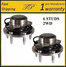 1999-2006 GMC Sierra 1500 (2WD RWD) FRONT Wheel Hub Bearing Assembly (PAIR)