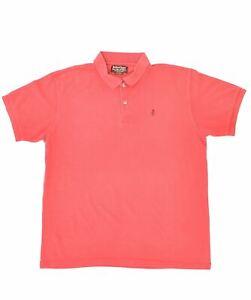 MARLBORO CLASSICS Mens Polo Shirt XL Red Cotton HW02