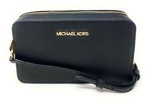 Michael Kors Jet Set Item Medium Belt Bag Crossbody Leather Clutch $328
