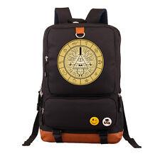 Gravity Falls Bill Cipher Backpack Cool Shoulder bag School Laptop Bag New