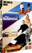 THE TRANSPORTER THE BUSINESS BE COOL 3 DISC BOX SET FOX UK 2009 DVD NEW & SEALED