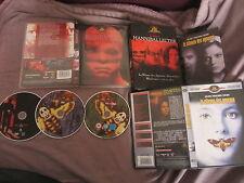 Coffret Hannibal Lecter: Manhunter + Le silence des agneaux, 3DVD, Horreur