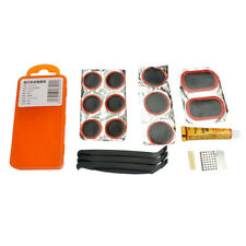 Bike Bicycle Flat Tire Tyre Repair Tool Kit Rubber Patch Glue Lever Fix Box New
