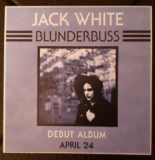 Jack White Blunderbuss Promo Only Sticker Third Man White Stripes Mint Free.Ship