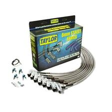 Taylor Spark Plug Wire Set 91002; Full Metal Jacket 8mm Stainless for Chevy V8