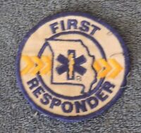 First Responder Round Patch 3 1/4""