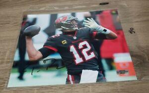 Tom Brady Signed 8x10 Photo the 🐐 🔥