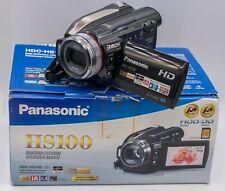 Mint Boxed - Panasonic 3mos HDC-HS100 1080p Prosumer HDD Video Camera Camcorder