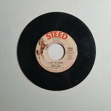 Andy Kim 45rpm So Good Together & I Got To Know Steed Rock Pop Q