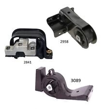 3 PCS Front & Rear Motor Mount FOR 1998-2000 Plymouth Breeze 2.0L