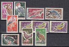 IVORY COAST 1965 1966 birds set  mint MNH **   Sc CV 27$ french west africa