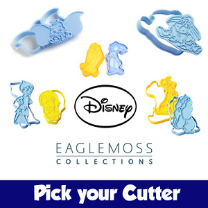 Pick Your DISNEY COOKIE CUTTER - From Cakes & Sweets Magazine by Eaglemoss