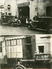 7 janvier 1935, Nantes, deux cambriolages Vintage silver print,la bijouterie C