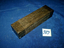 Mooreiche subfossil  Messergriff    150 x 40 x 30 mm  Nr. 989