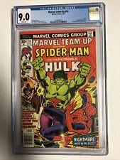Marvel Team-up (1979) # 53 (CGC 9.0 WP) | 1st App John Byrne X-Men !!!