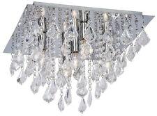 Deckenlichter/- leuchten aus Glas in aktuellem Design mit 4-6 Lichtern