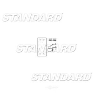 Standard Motor Product Ignition 30 Amp 5 Terminal Relay RY12