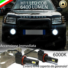 COPPIA LAMPADE H11 LED CANBUS FENDINEBBIA LAND ROVER FREELANDER I 6400L 6000K