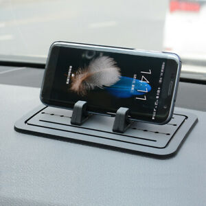 Car Mobile Phone Mount Stand GPS Holder Mat Auto Dashboard Anti-slip Rubber Pad