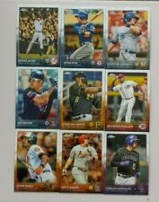 2015 TOPPS CHROME BASE CARD #1 TO #200- COMPLETE YOUR SET