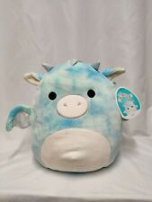 Squishmallows 30cm / 12 Inch. Keith The Sky Blue Dragon Brand New With Tags