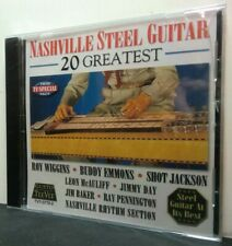 THE NASHVILLE STEEL GUITAR - Various Arists - 20 GREATEST  -a