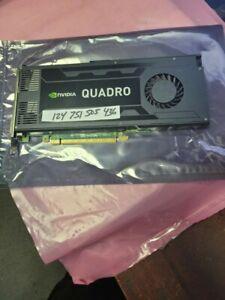 Nvidia Quadro K4000 3GB GDDR5 PCI Express 2.0 x16 Video Graphics Card USA SELLER