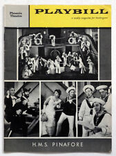 1960 Vintage H M S PINAFORE New York PLAYBILL Magazine / GILBERT & SULLIVAN