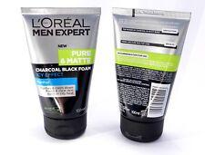 6 X L'oreal Men Expert Pure & Matte Icy Effect Charcoal Black Foam 100ml