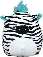 "Squishmallow 8"" Zeke The Zebra Stuffed Animal, Super Pillow Soft Plush Toy"
