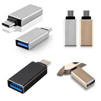 USB-C 3.1 Type C Male to USB 3.0 Female OTG Adapter for Apple MacBook Cell Phone