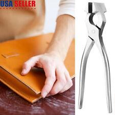 For Bag Belt Leathercraft Tool Leather Edge Adjustment Press Flatten Plier Clamp