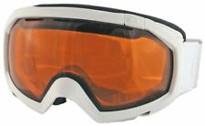 Quiksilver Facet Orb Snow Goggles - White Z65 / Orange - New