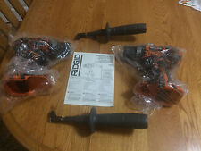 "2 BRAND NEW R86008 RIDGID 18v VOLT LITHIUM-ION COMPACT 1/2""CORDLESS DRILL DRIVER"