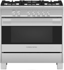 Fisher & Paykel OR36SDG4X1 Contemporary 36 Inch Freestanding Gas Range Stainless photo