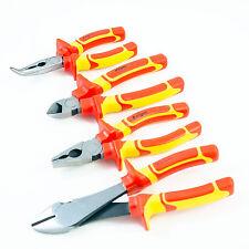 4PCS Electrical Plier DIAGONAL CUTTER COMBINATION PLIER BENT NOSE 06 01 07 11