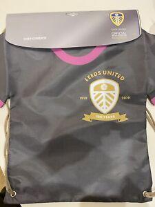 Leeds United 2019/20 Centenary Away Shirt Gym/PE Bag. BNWT. Xmas Stocking Filler