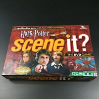 Harry Potter Scene It? DVD Game Complete 8 - Adult 2 or More Players Mattel