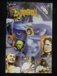 ROCK N ROLL 60 REVOLUTIONARY MUSIC COMIC 1ST PRINT GENESIS PHIL COLLINS 1993 VF+