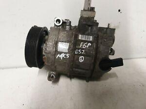 VW GOLF MK5 2004-08 1.6 TSI PETROL A/C AIR CONDITIONING PUMP 1K0820803P #52