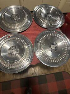 """1959 Hubcap 15"""" Buick LeSabre Invicta Electra Wheel Cover OEM Crown 59 Emblem"""