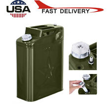 20L Jerry Can Liter (5 Gallon Gal) Backup Steel Tank Fuel Gas Gasoline Green
