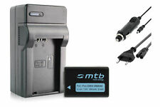Batterie DMW-BMB9E + Chargeur pour Panasonic Lumix DMC-FZ48, FZ60, FZ62