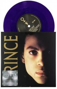 """PRINCE  PARTYMAN B-SIDE COOL LIVE 7"""" EXCLUSIVE LIMITED EDITION PURPLE VINYL"""